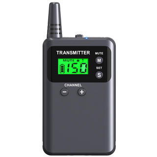 Whisper wireless radio tour guide system 2 transmitter in one group system 313T for training interpreting and conference