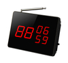 Wireless restaurant calling system number display screen receiver 3 number in 2 digits