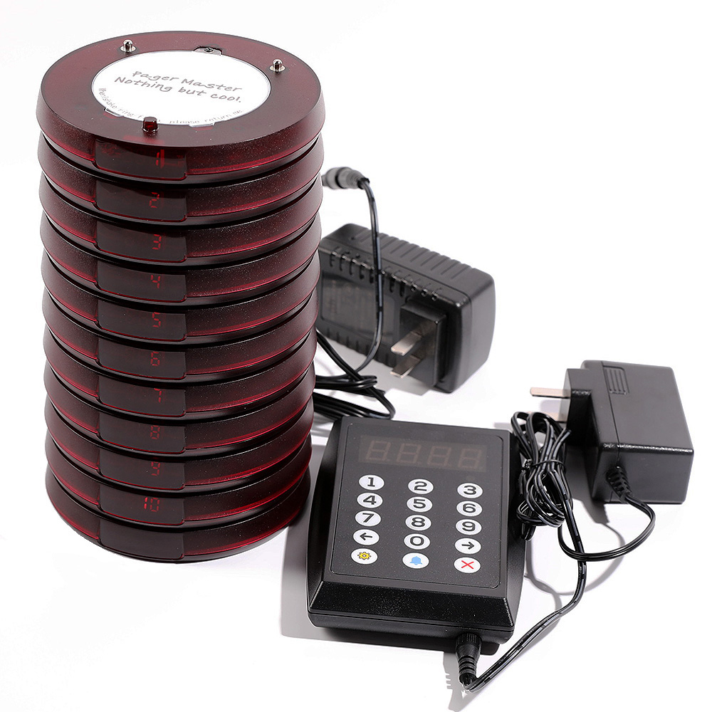 Coaster pager restaurant pager wireless pager system for restaurant