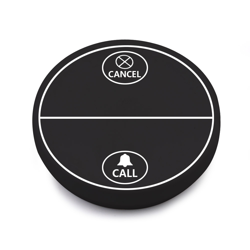 Self-generating electricity wireless calling system restaurant table buzzer waiter call button with no lithium battery or dry battery