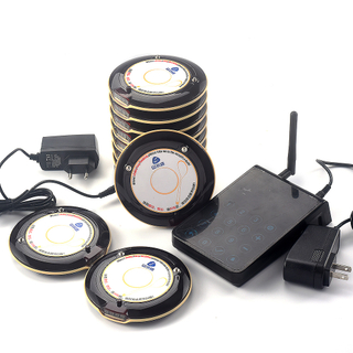 Wireless calling system coaster pager system restaurant pager vibrator